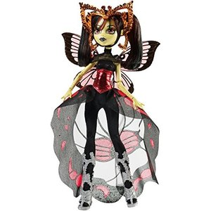 モンスターハイMonster High Boo York, Boo York Gala Ghoulfriends Luna Mothews Doll|planetdream