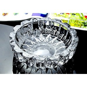 灰皿SICOHOME Glass Ashtray Round Diameter 5.9