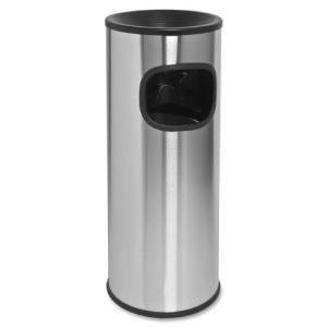 灰皿Genuine Joe Fire-Safe 3-Gallon Ashtray Receptacle|planetdream