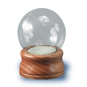 スノーグローブNational Artcraft Water Globe for Crafters Measures 4