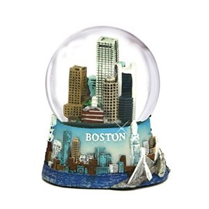 スノーグローブ3.5 Inch Boston Snow Globe Souvenir from Massachusetts in and the Boston Snow Globes Collection.|planetdream
