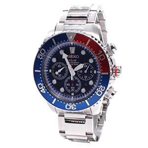 当店1年保証 セイコーSeiko Men's SSC019 Solar Diver Chronograph Watch planetdream