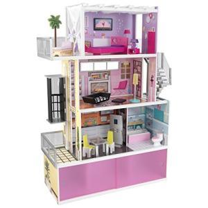 1/6ドールKidKraft?Beachfront Mansion with Furniture|planetdream