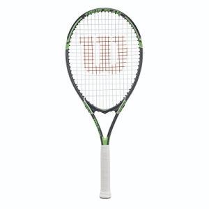 テニスWilson Tour Slam Strung Tennis Racquet, 4 3/8-Inch, Black/Green|planetdream