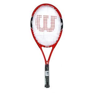 テニスWilson Federer 100 Tennis Racquet Grip 4 1/8 (Pre-Strung)|planetdream