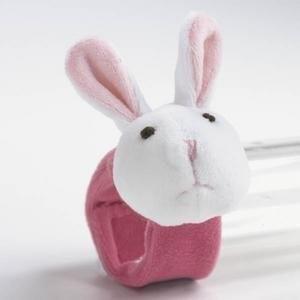 リー・ミドルトンPink Bunny Rabbit Doll Wrist Rattle by Lee Middleton Dolls|planetdream