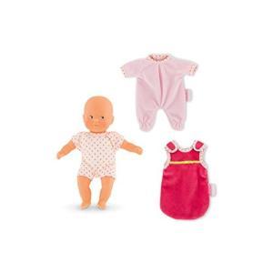 コロールCorolle Good Night My Mini Calin Baby Doll, Pink|planetdream