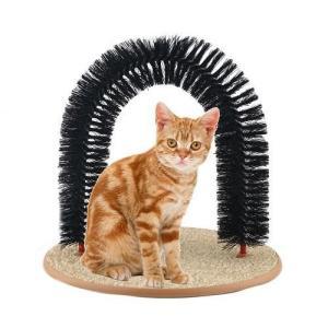 猫おもちゃPurrfect Arch Self Grooming and Massaging Cat Toy- Reduce Shedding & Scratching  To Keep Your Home Fur Free!|planetdream