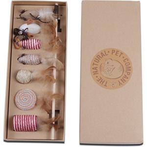 猫おもちゃThe Natural Pet Company Cat Toys Collection in Gift Box|planetdream