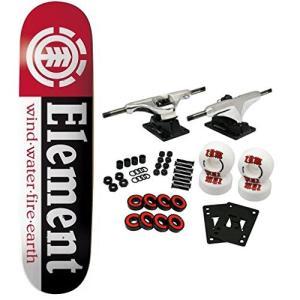 スタンダードスケートボードELEMENT Skateboards SECTION Complete SKATEBOARD Black|planetdream