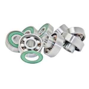 ベアリングSkateboard Bearings, Built-In Spacers, Extended Ceramic (Pack of 8)|planetdream