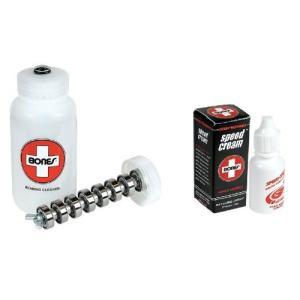 ベアリングBones Swiss Skate Speed Cream + Cleaning Unit Kit|planetdream