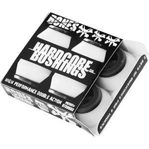 ブッシュBones Hardcore 4pc Hard White/Black Bushings|planetdream