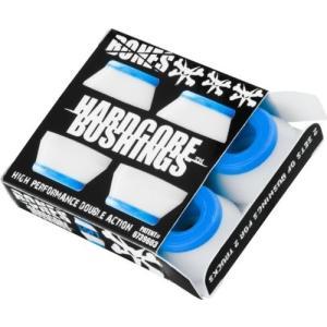 ブッシュBones Wheels Hardcore 4Pc Soft White/Blue Bushings|planetdream