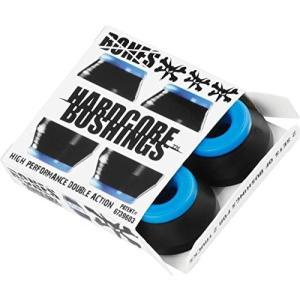 ブッシュBones Wheels Hardcore Black / Blue Skateboard Bushings - Includes 4 Pieces - Soft|planetdream