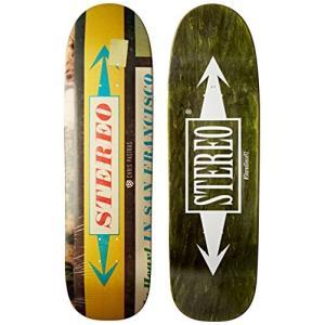 デッキStereo Skateboards Dollar Chris Pastras Cruiser Deck, 8.625 x 32-Inch|planetdream