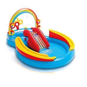 プールIntex Rainbow Ring Inflatable Play Center, 117