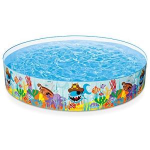 プールIntex Ocean Reef Snapset Inflatable Pool, 8' X 18