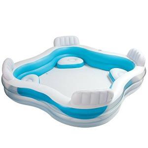 プールIntex Swim Center Family Lounge Inflatable Pool, 90