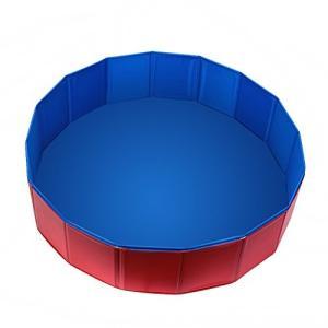 プールFuloon PVC Pet Swimming Pool Portable Foldable Pool Dogs Cats Bathing Tub Bathtub Wash Tub Water Pond Pool Kiddie Pools f|planetdream