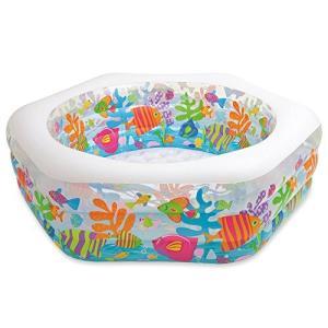 プールIntex Swim Center Ocean Reef Inflatable Pool, 75