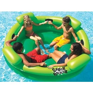 フロートInflatable Swimming Pool Shock Rocker, Model # 9056|planetdream