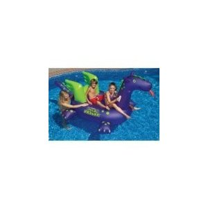 フロートSwimline Giant Sea Dragon Inflatable Pool Toy|planetdream