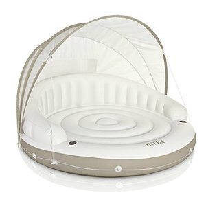 フロートIntex Canopy Island Inflatable Lounge, 78