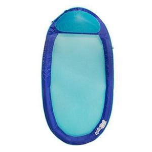 フロートSwimWays Original Spring Float - Floating Swim Hammock for Pool or Lake - Dark Blue/Light Blue|planetdream