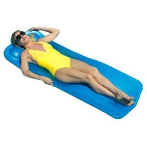 フロートAqua Cell Marquis 1.5-in Thick Swimming Pool Float, Blue, 74