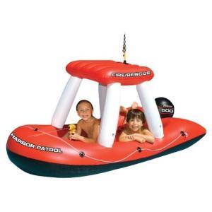 フロートSwimline Fireboat Squirter Inflatable Pool Toy|planetdream