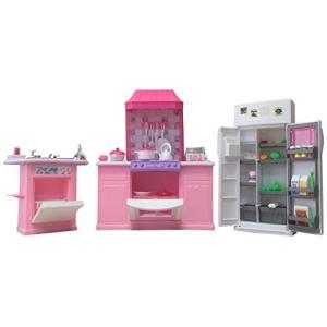 1/6ドールGloria Dollhouse Furniture - Deluxe Kitchen Play Set|planetdream