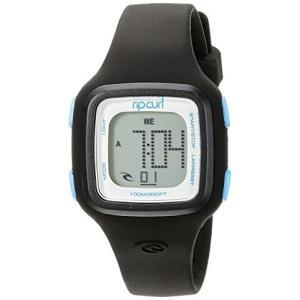 当店1年保証 リップカールRip Curl Women's A2466G-BLK Candy Digital Display Quartz Black Watch|planetdream