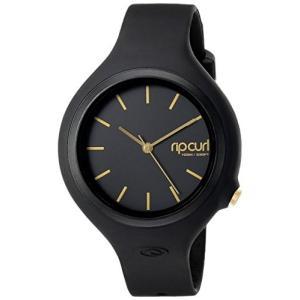 当店1年保証 リップカールRip Curl Women's 'Aurora' Quartz Plastic and Polyurethane Sport Watch, Color:Black (Model: A2|planetdream