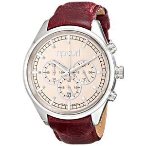 当店1年保証 リップカールRip Curl Women's A2741G Analog Display Analog Quartz Brown Watch|planetdream