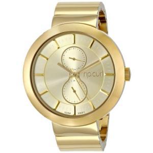 当店1年保証 リップカールRip Curl Women's A2718G - GOL Futurist - Gold Analog Display Quartz Gold Watch|planetdream