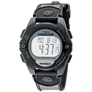 当店1年保証 タイメックスTimex Men's T40941 Expedition Full-Size Digital CAT Charcoal/Black Resin Strap Watch|planetdream
