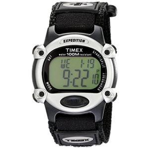 当店1年保証 タイメックスTimex Men's T48061 Expedition Full-Size Digital CAT Black Fast Wrap Strap Watch|planetdream