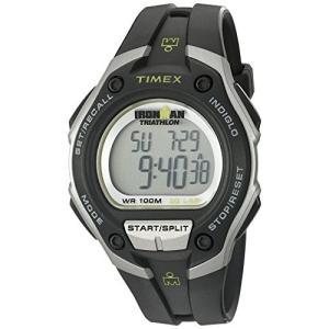 当店1年保証 タイメックスTimex Men's T5K412 Ironman Classic 30 Oversized Black/Silver-Tone Resin Strap Watch|planetdream