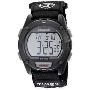 当店1年保証 タイメックスTimex Men's T49949 Expedition Digital CAT Black Fast Wrap Watch|planetdream