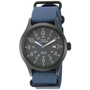 当店1年保証 タイメックスTimex Men's TW4B04800 Expedition Scout 40 Blue Nylon Slip-Thru Strap Watch planetdream