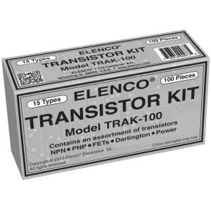 エレンコElenco Transistor Kit - 100-Piece - TRAK-100|planetdream