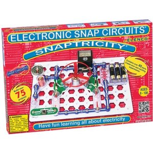 エレンコSnap Circuits Snaptricity, Electronics Exploration Kit (STEM Building), For Kids 8+|planetdream