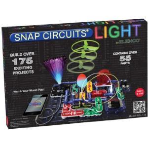 エレンコSnap Circuits LIGHT Electronics Exploration Kit | Over 175 Exciting STEM Projects | Full Color Project Manual | 55+ Sn|planetdream