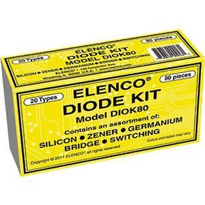 エレンコElenco Diode 80 Piece Kit|planetdream