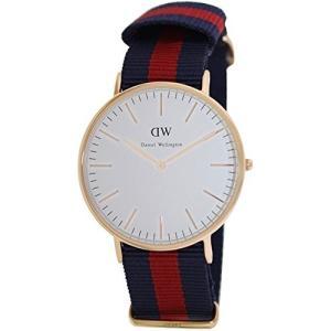 当店1年保証 ダニエルウェリントンDaniel Wellington Men's 0101DW Classic Rose Gold-Tone Watch with Striped Band|planetdream