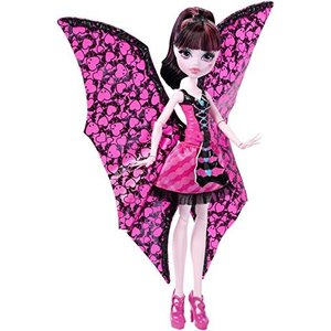 モンスターハイMonster High Ghoul-to-Bat Transformation Draculaura Doll|planetdream