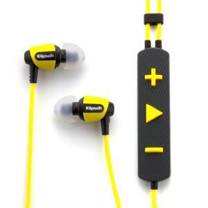 イヤホンKlipsch Image S4i Rugged - Yellow All Weather In-Ear Headphones|planetdream