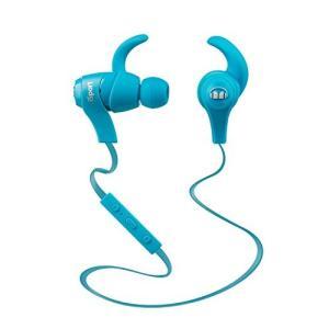 イヤホンMonster iSport Bluetooth Wireless In-Ear Sports Headphones - Blue, Running, Sweatproof|planetdream