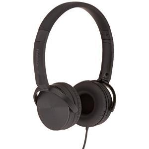 イヤホンHoomia U3-CLASSIC BB On-Ear Stereo Headphone with Microphone, Black/Black|planetdream